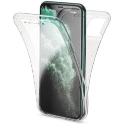 Full cover transparent TPU-skal till iPhone Transparent one size