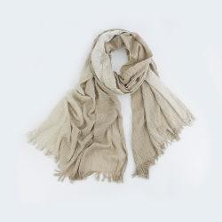 Skir scarf Light Beige one size