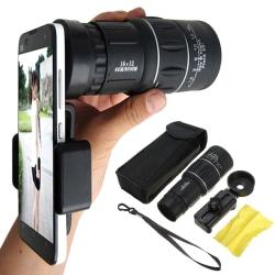 16X52 Teleskop Kamera Telefon Clip-on Mobil zoomobjektiv Universa
