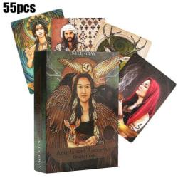 55st änglar och förfäder Tarotkort däck av Kyle Gray presenter