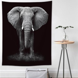 Elefant vägg hängande gobeläng sovrum kasta filt dekoration 200*150CM