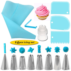 Tylluppsättning -14st Spirit - Sprites väska och degskrapa Blue