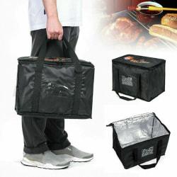 Leveransisolerade påsar Pizza Takeaway Thermal Warm / Cold Bag 28L