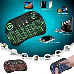 Mini Wireless Rii i8 Air Mouse Keypad Remote Control Desktop