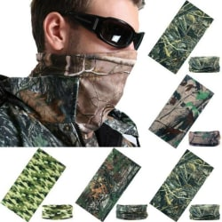 Realtree Real Tree Meaf Camouflage Camo Snood Scarf Mask Head Camouflage