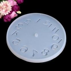 Silikonform smycken mögel Stor klocka gör handgjord DIY mögel