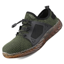 Mjuka Sole män Arbetsskydd Sneakers Black 41