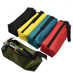 Förvaringsnyckelverktyg Organizer Pocket Zipper Pouch Oxford Bag Green 25 * 7 * 8.5 cm