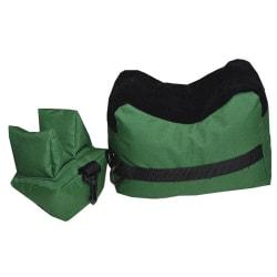 Tactical Rifle Front Rear Rest Bench Jakt Skytte Sand Väska Dark green