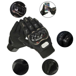 Thermal Motorcykel Motorcykelhandskar Carbon Knuckle Protection Black M