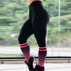 Dam Yoga Byxor Leggings Running Gym Workout Sports Byxor red S
