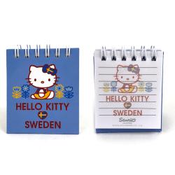 Hello Kitty Spiralblock med Magnet Sweden