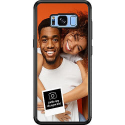 Designa ditt eget Samsung Galaxy S8 Soft Case (Svart)