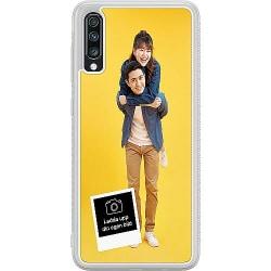 Designa ditt eget Samsung Galaxy A70 Soft Case (Frostad)