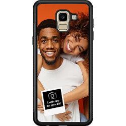 Designa ditt eget Samsung Galaxy J6 (2018) Soft Case (Svart)