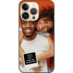 Designa ditt eget Apple iPhone 13 Pro Soft Case (Svart)