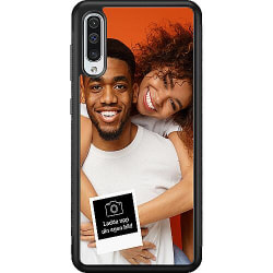 Designa ditt eget Samsung Galaxy A50 Soft Case (Svart)