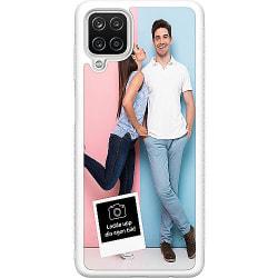 Designa ditt eget Samsung Galaxy A12 Soft Case (Vit)