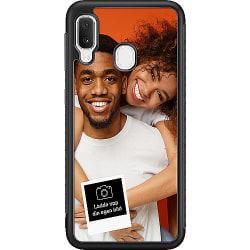 Designa ditt eget Samsung Galaxy A20e Soft Case (Svart)