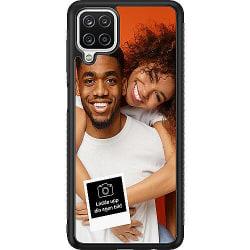 Designa ditt eget Samsung Galaxy A12 Soft Case (Svart)