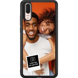Designa ditt eget Huawei P20 Soft Case (Svart)