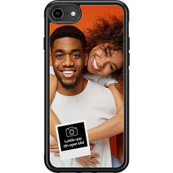 Designa ditt eget Apple iPhone 8 Soft Case (Svart)