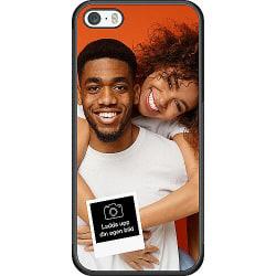 Designa ditt eget Apple iPhone 5 / 5s / SE Soft Case (Svart)