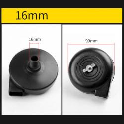 luftkompressor pneumatiska delar svart 16mm plast luftfilter sil 16mm