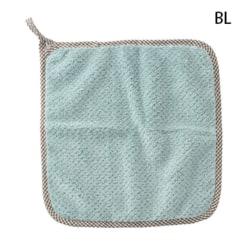 hängande handduk absorberande handduk hushåll badrum kök di Blue