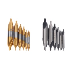 hss centrumborr kombinerade centrumborrar 60 ° försänkta borrar HSS A1.5/5pcs