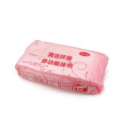 icke-vävda tyger i köket absorberande, icke-oljiga, lata trasor Pink