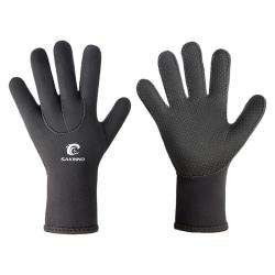 Neopren våtdräkt handskar vuxen elastisk varm dykning handske snorkel L