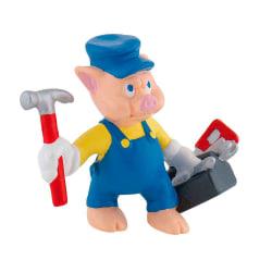 Bullyland Figur Disney De tre små grisarna - Blå Practical Verkt