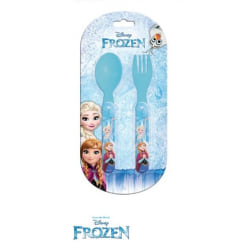 ZTR Bestick Kniv & Gaffel Disney Frost Frozen Elsa Anna 13cm
