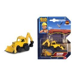 Simba Bob Byggare Builder Metall bil Fordon Scoop Skopis Gul