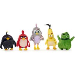 Dinotoys Angry Birds Gosedjur mjukisdjur Plush 25-28cm Grå/rosa