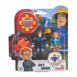 Simba Fireman Sam Brandman Sam Figurer 2-Pack Sam & Norman