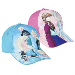 ZTR Keps Cap Hat Disney Frost Frozen Elsa & Anna 53cm 1. Ljusblå Elsa
