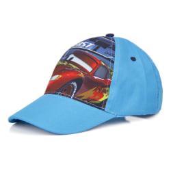 ZTR Keps Cap Hat Disney Pixar Cars Mcqueen Fast Ljusblå 54cm