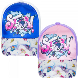 ZTR Keps Cap Kepsar Hat Baseball MLP My Little Pony Häst VÄLJ 2.Purple/Pink