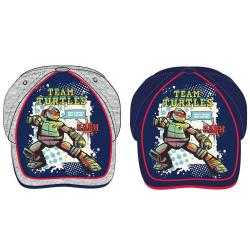 ZTR Keps Cap Kepsar Hat Ninja Turtles TMNT Team Turtles 52cm 1 Ljusgrå Raph