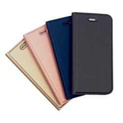 Plånboksfodral Ultratunn design Nokia 7 Plus - fler färger Mörkgrå