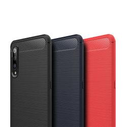 Stöttåligt Armor Carbon TPU-skal Xiaomi Mi 9 - fler färger grå