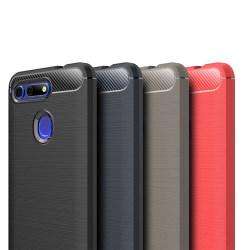 Stöttåligt Armor Carbon TPU-skal Huawei Honor View 20 - fler fär Svart