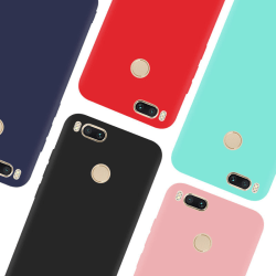 Xiaomi Mi A1 Ultratunn Silikonskal - fler färger Blå