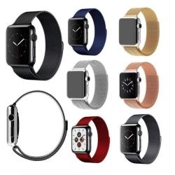 Apple Watch Milanese Loop 38/40mm - fler färger Svart