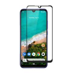 Heltäckande Härdat Glas till Xiaomi Mi A3 - Svart - fler färger Svart