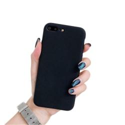 iPhone 7/8 PLUS Ultratunn Silikonskal - Svart - fler färger Svart