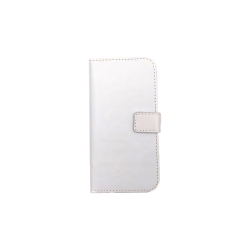 Plånboksfodral 2 fack Samsung S6 Edge - fler färger Vit