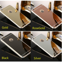 Spegelskal iPhone 8 PLUS - fler färger Silver